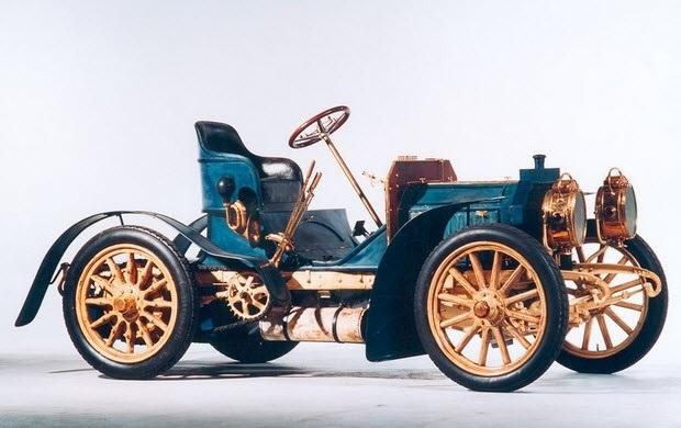 Создан первый автомобиль  Мерседес  (1901) 012