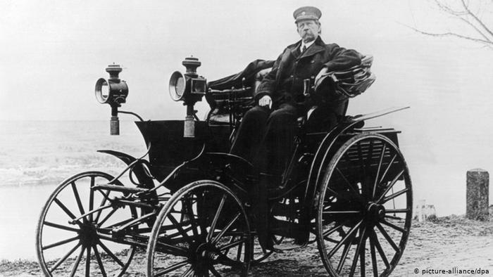 Создан первый автомобиль  Мерседес  (1901) 013
