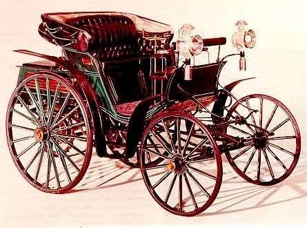 Создан первый автомобиль  Мерседес  (1901) 014