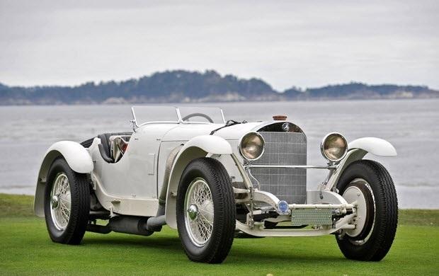 Создан первый автомобиль  Мерседес  (1901) 015