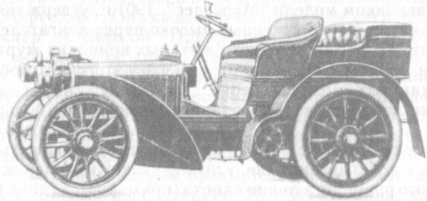 Создан первый автомобиль  Мерседес  (1901) 017
