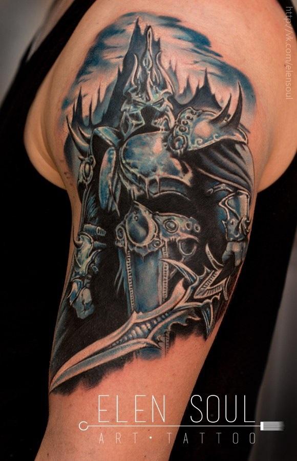 Татуировки дарк соулс 020