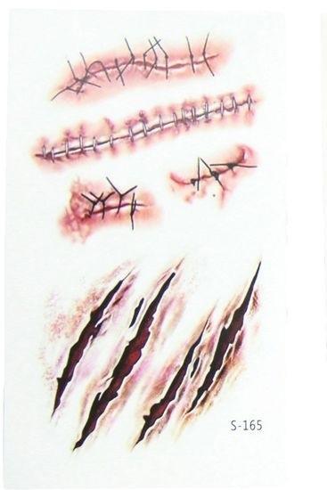 Татуировки на хэллоуин 002