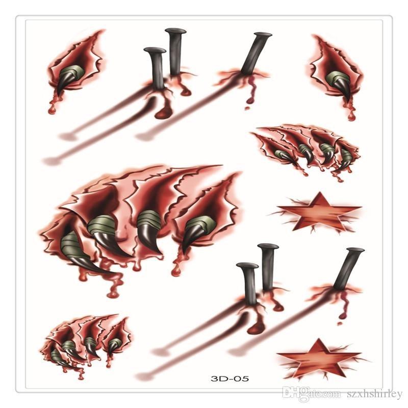 Татуировки на хэллоуин 018
