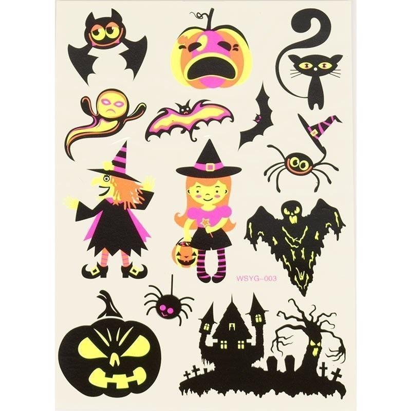 Татуировки на хэллоуин 020