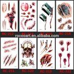 Татуировки на хэллоуин — крутая подборка