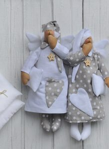 Тильда кукла сплюшка выкройка 021