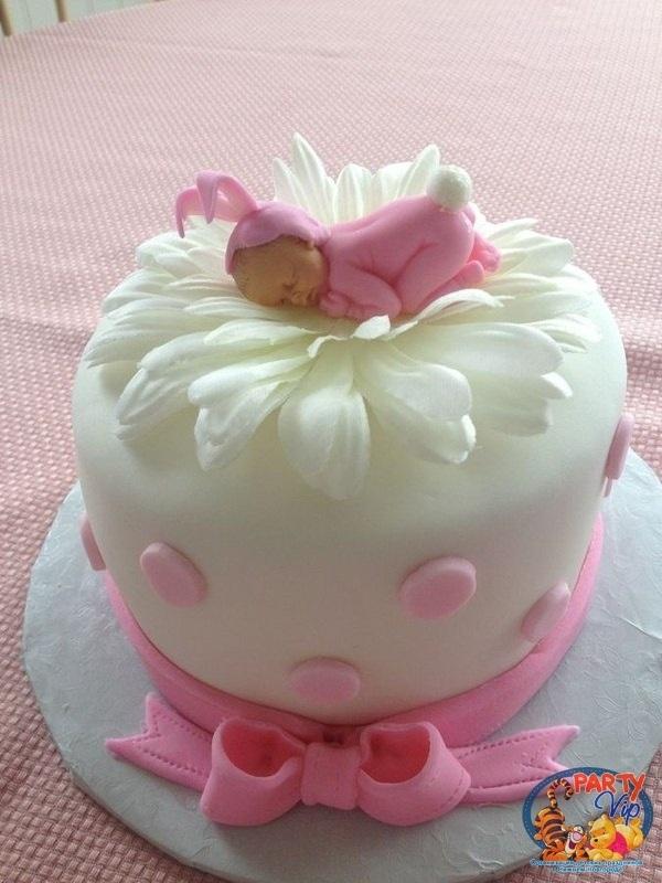 Торт с рождением дочки 005