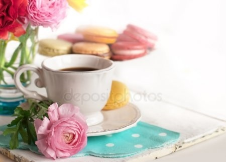 Утро нежность кофе картинки цветы005