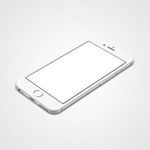 Фото айфона на белом фоне005