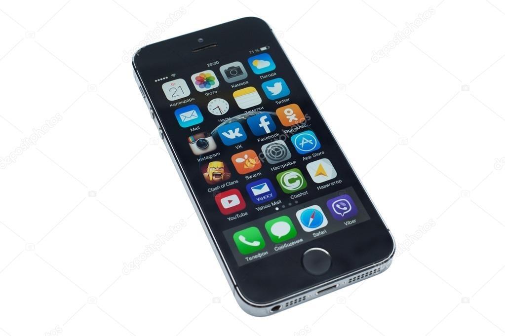 Фото айфона на белом фоне006