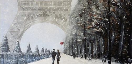 Франция зима картинки 001