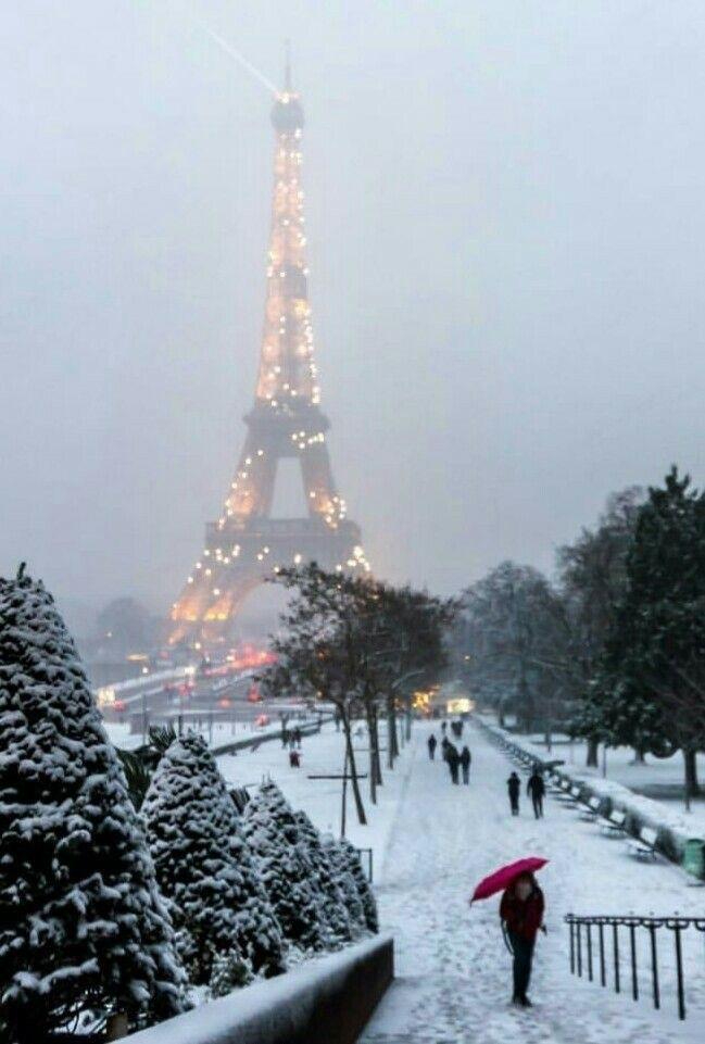 Франция зима картинки 003