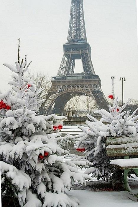 Франция зима картинки 005