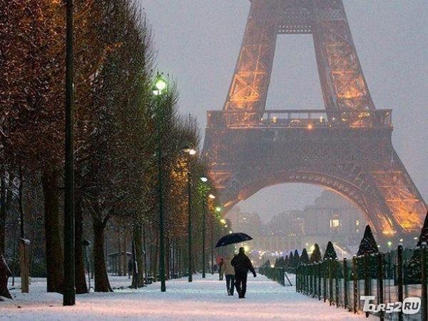 Франция зима картинки 007