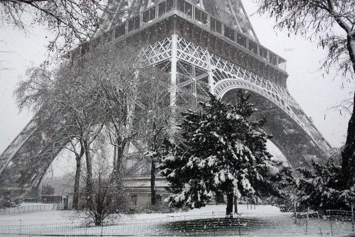 Франция зима картинки 009