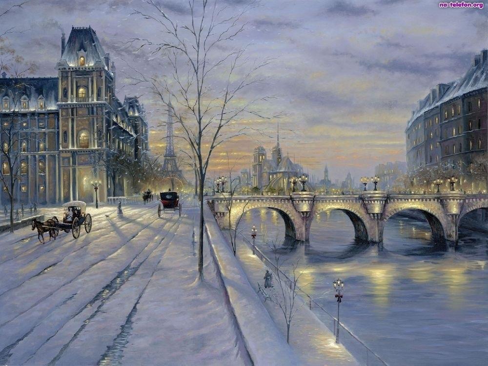 Франция зима картинки 012