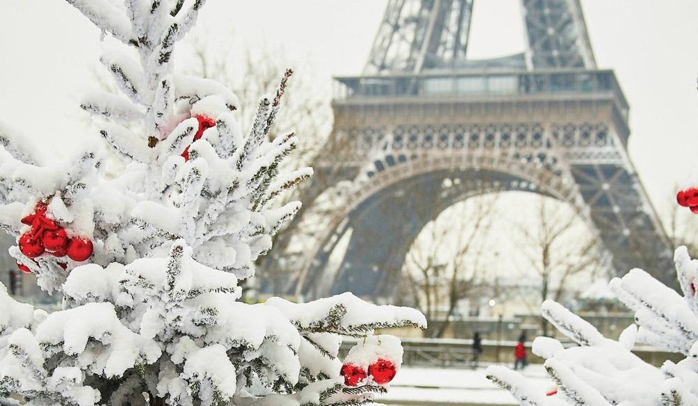 Франция зима картинки 014