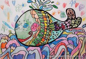 Цветные графические рисунки 013