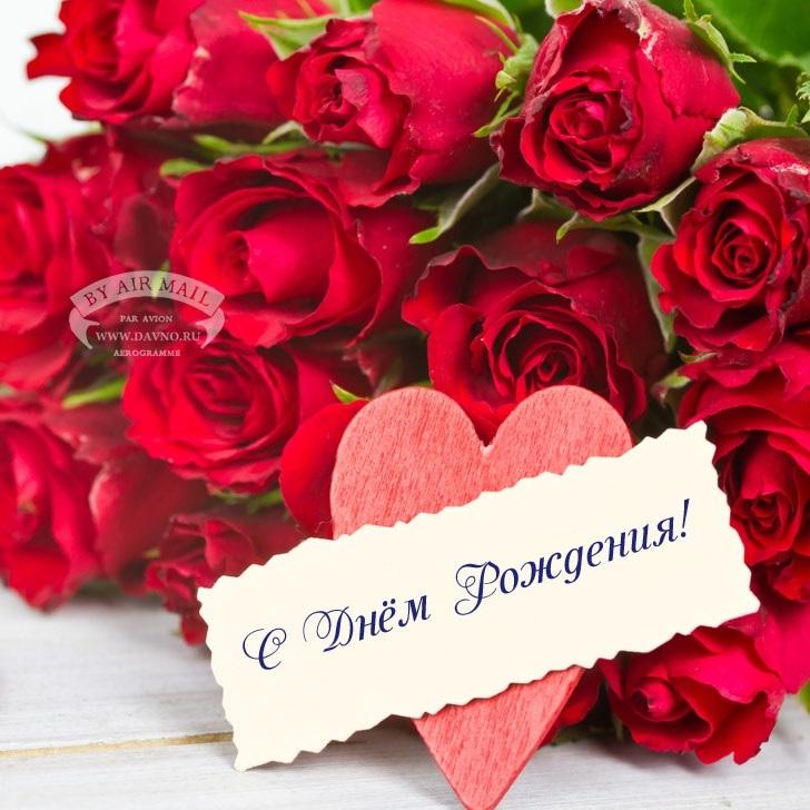 Цветы розы фото с днем рождения003