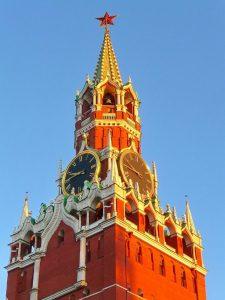 Часы кремлевские рисунок 023