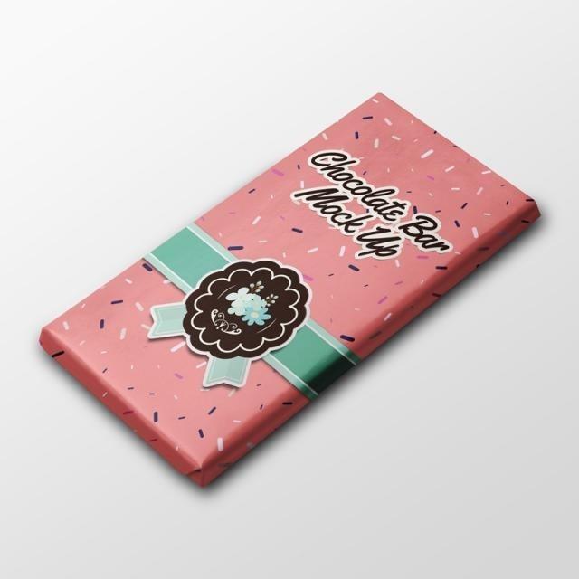 Шаблон коробки для шоколада 014