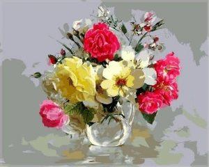 акрил цветы 023
