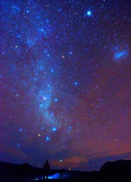 аниме арты звездное небо 011