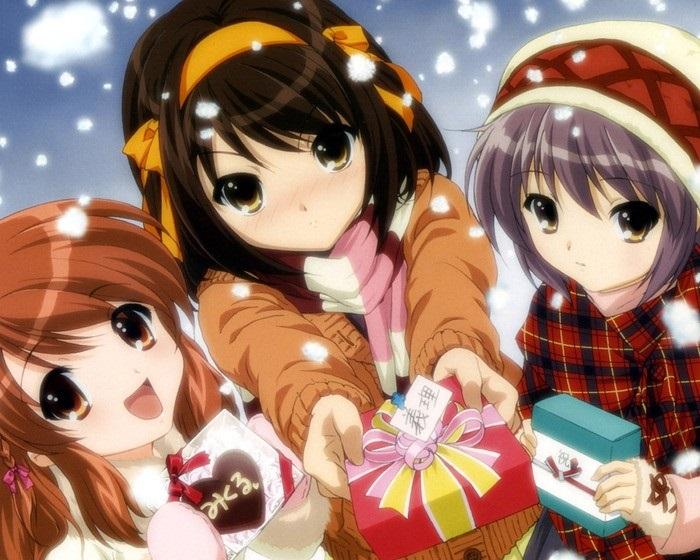 аниме картинки новый год на аву 004