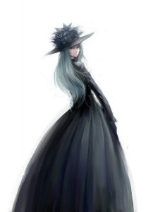 аниме платья 19 века 024
