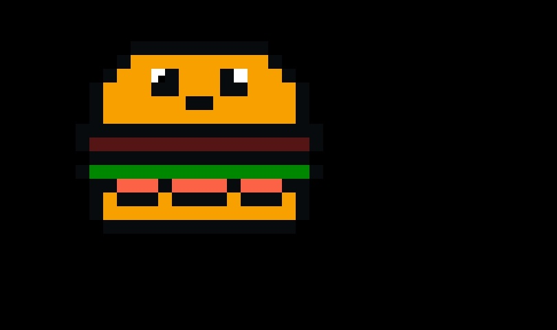 арт бургер пиксель 002
