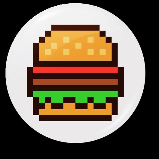 арт бургер пиксель 006
