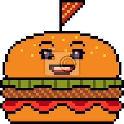 арт бургер пиксель 007