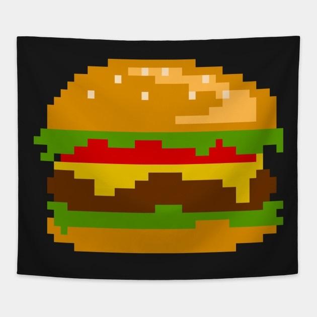 арт бургер пиксель 008