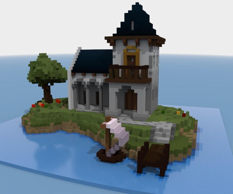 архитектура minecraft 003