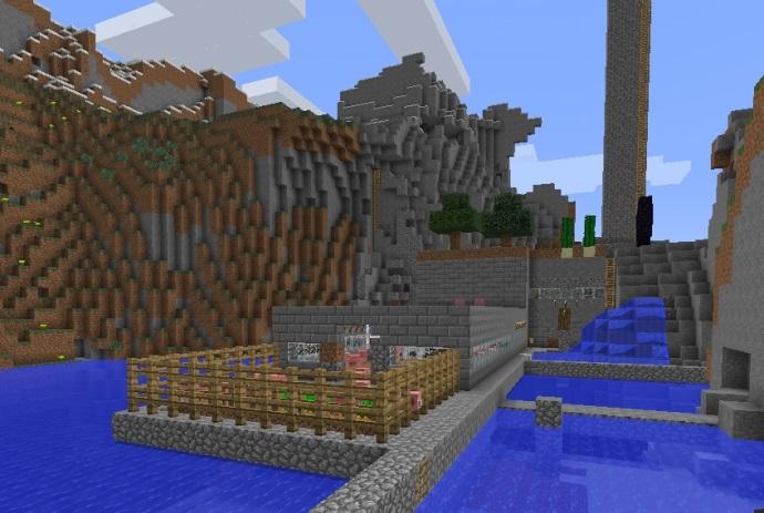 архитектура minecraft 004