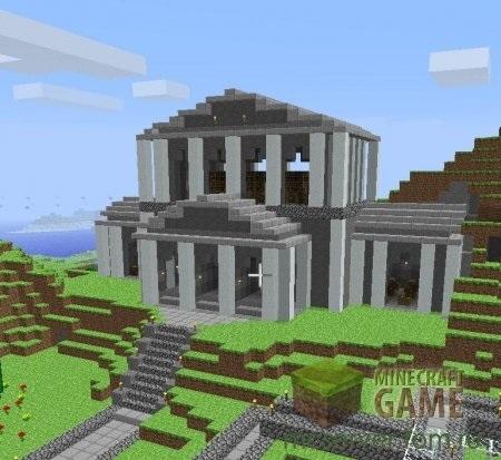 архитектура minecraft 015