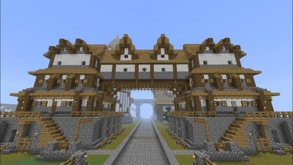 архитектура minecraft 017