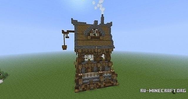 архитектура minecraft 020