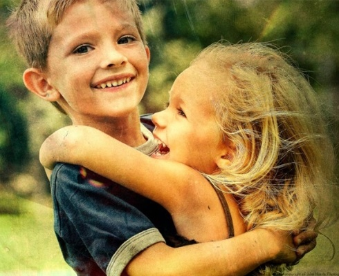 брат и сестра дети 011