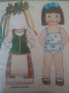 бумажная кукла одень машеньку ссср 017