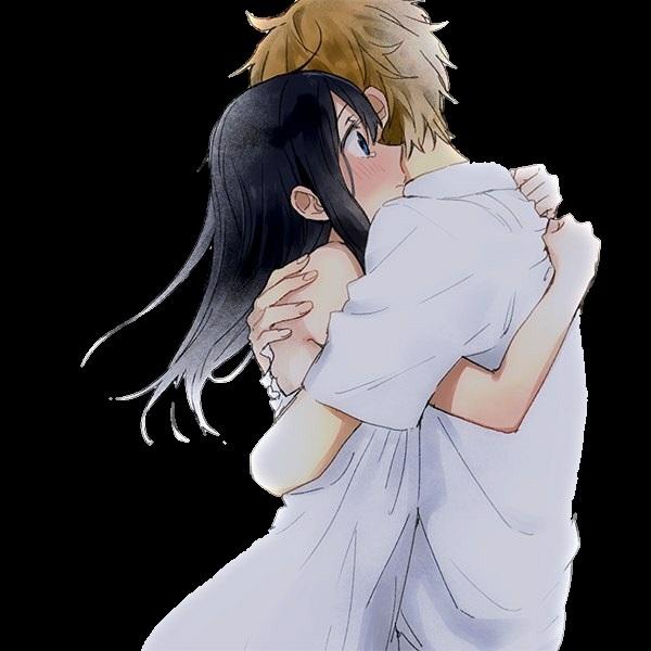 влюбленные аниме арт 013