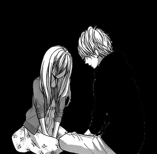 влюбленные аниме арт 018