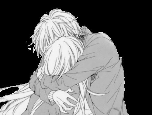 влюбленные аниме арт 019