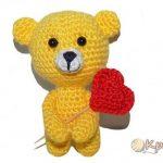Красивое | вязание игрушки мишка крючком