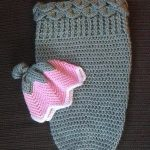 Красивые | вязаные коконы для новорожденных