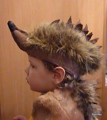 вязаный костюм ежика для мальчика своими руками 018