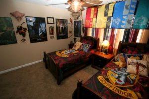 декор комнаты в стиле гарри поттера 024