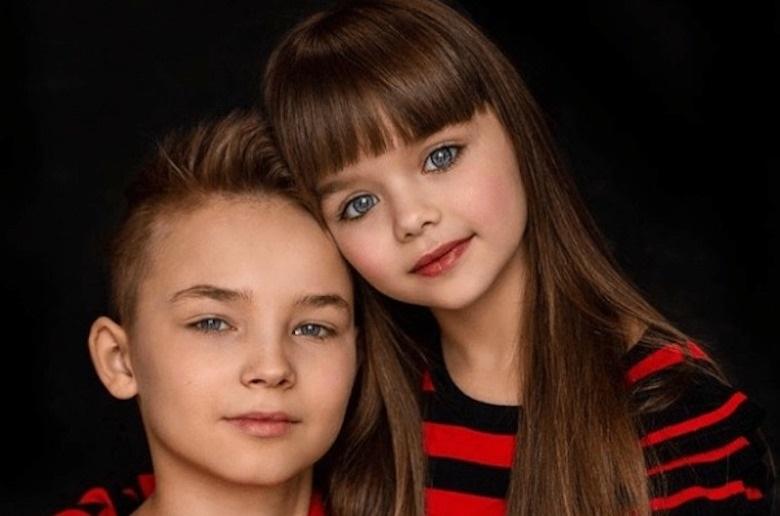 дети картинки брат и сестра 013