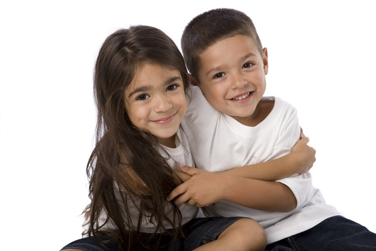 дети картинки брат и сестра 014